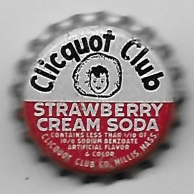 CLICQUOT CLUB STRAWBERRY CREAM SODA