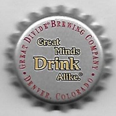 GREAT DIVIDE GREAT MINDS DRINK ALIKE