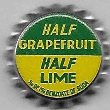 HALF GRAPEFRUIT HALF LIME