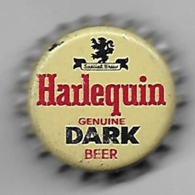 HARLEQUIN GENUINE DARK BEER