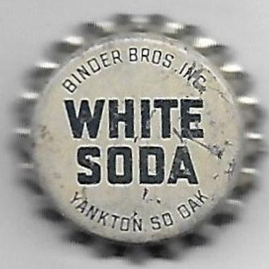 BINDER BROS. WHITE SODA