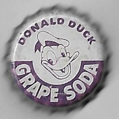 DONALD DUCK GRAPE SODA 1