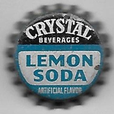 CRYSTAL BEVERAGES LEMON SODA