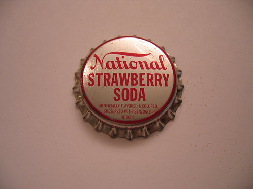 NATIONAL STRAWBERRY SODA MAGNET