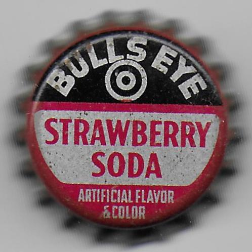 BULLS EYE STRAWBERRY SODA