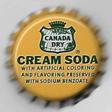 CANADA DRY CREAM SODA