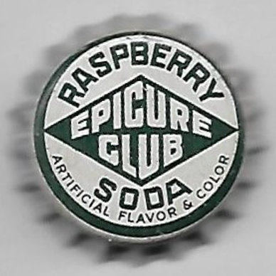 EPICURE CLUB RASPBERRY SODA