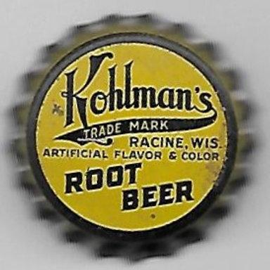 KOHLMAN'S ROOT BEER