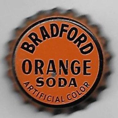 BRADFORD ORANGE SODA; BRADFORD, PA; 1950-60