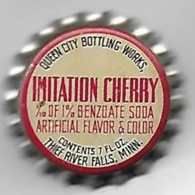QUEEN CITY BOTTLING IMITATION CHERRY