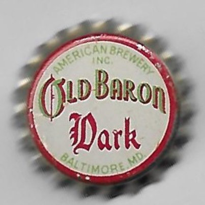 OLD BARON DARK, BALTIMORE MARYLAND