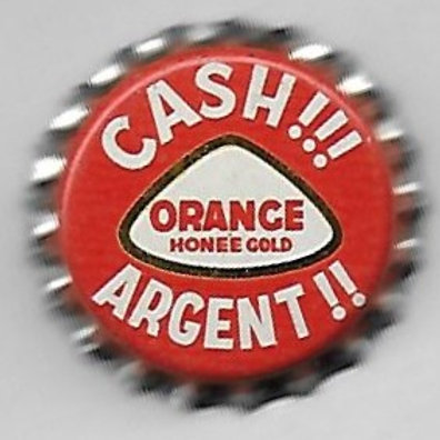 PURE SPRINGS HONEE GOLD ORANGE;  CASH!!! ARGENT!!; CANADA