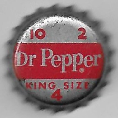 DR. PEPPER KING SIZE 10 2 4
