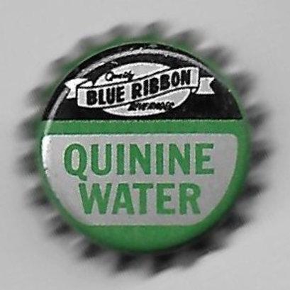 BLUE RIBBON QUININE WATER