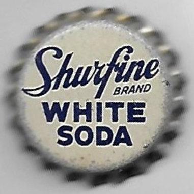 SHURFINE WHITE SODA