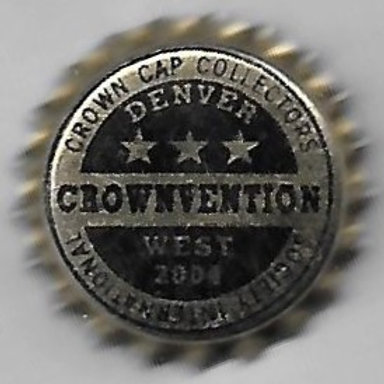 CROWNVENTION WEST DENVER, CO 2004 3 STAR BEER BLK