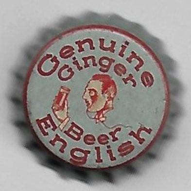 GENUINE ENGLISH GINGER BEER