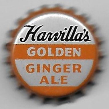 HARVILLA'S GOLDEN GINGER ALE