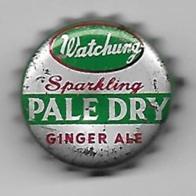 WATCHUNG SPARKLING PALE DRY GINGER ALE;