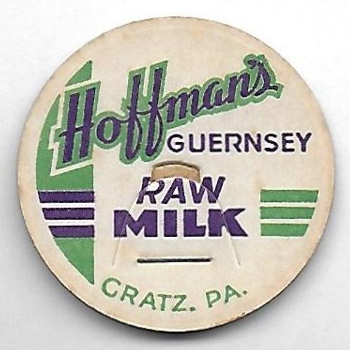 HOFFMAN'S GUERNSEY RAW MILK POG