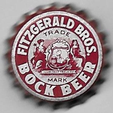 FITZGERALD BROS. BOCK BEER