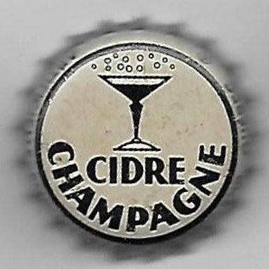 CIDRE CHAMPAGNE