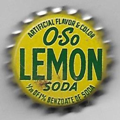 O-SO LEMON SODA