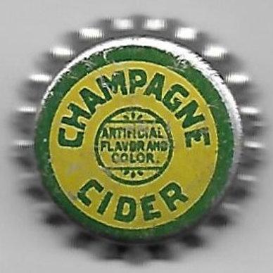 CHAMPAGNE CIDER SOLID CORK