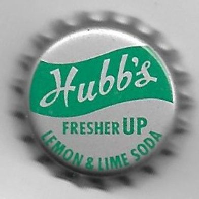 HUBB'S FRESHER UP LEMON & LIME SODA