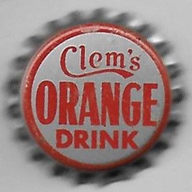 CLEM'S ORANGE DRINK