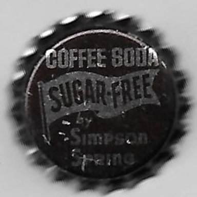SIMPSON SPRING COFFEE SODA SUGAR FREE