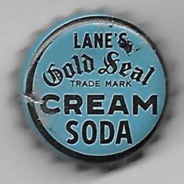 LANE'S GOLD SEAL CREAM SODA