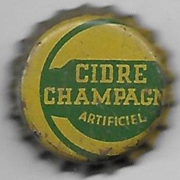 CIDRE CHAMPAGNE MISPRINT