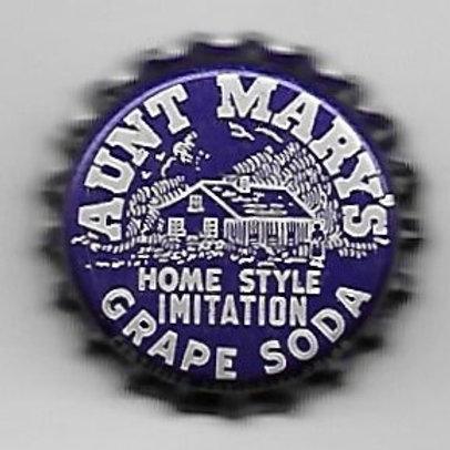 AUNT MARY'S HOME STYLE IMITATION GRAPE SODA