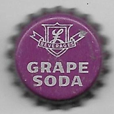 LASSER'S BEVERAGES GRAPE SODA CHICAGO, IL