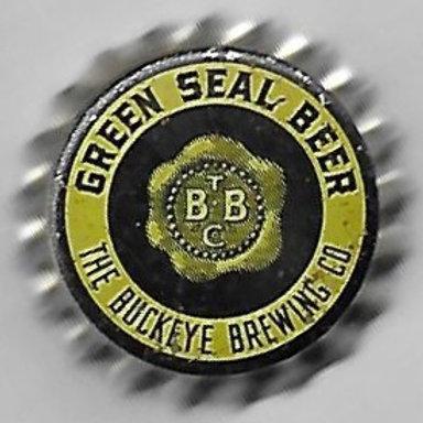 BUCKEYE BREWING GREEN SEAL BEER