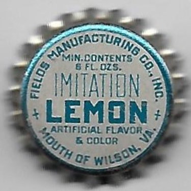 FIELDS MANUFACTURING IMITATION LEMON