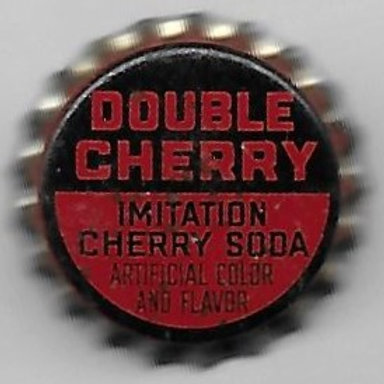 DOUBLE CHERRY IMITATION CHERRY SODA