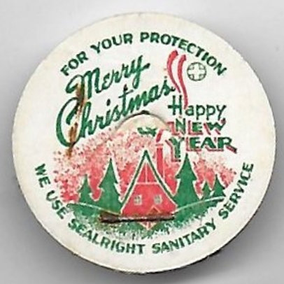 MERRY CHRISTMAS HAPPY NEW YEAR POG