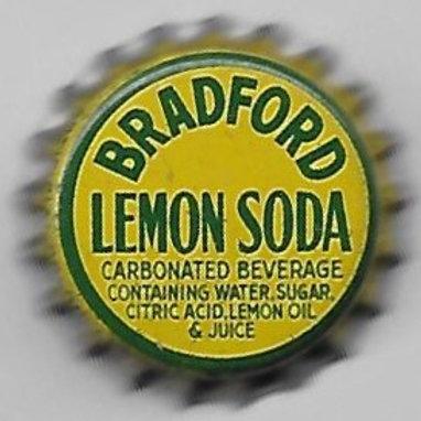 BRADFORD LEMON SODA; BRADFORD, PA; 1950-60