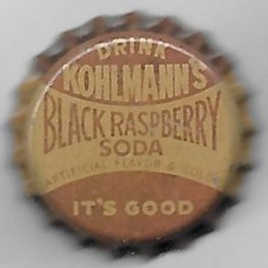 KOHLMANN'S BLACK RASPBERRY SODA