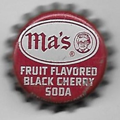 MA'S BLACK CHERRY SODA