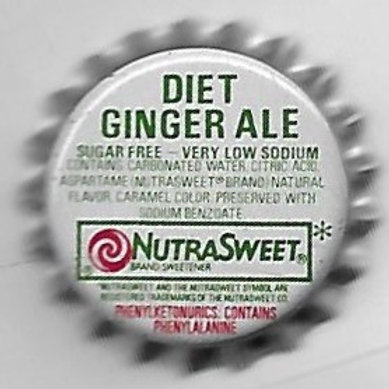 GINGER ALE, DIET