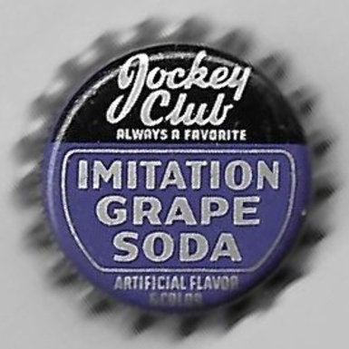 JOCKEY CLUB IMITATION GRAPE SODA