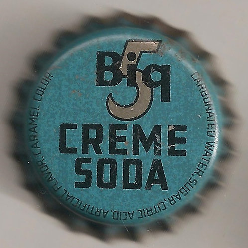 Big 5 CREME SODA; TERRITORY OF HAWAII
