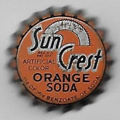 SUN CREST ORANGE SODA
