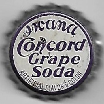 IWANA CONCORD GRAPE SODA