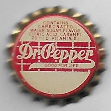 DR. PEPPER 1930'S