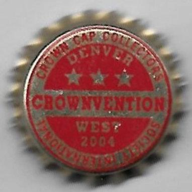 CROWNVENTION WEST 2004 DENVER, CO 3 STAR BEER RED