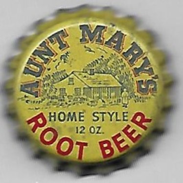 AUNT MARY'S HOME STYLE ROOT BEER